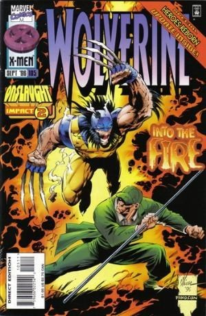 Wolverine #105  by  Larry Hama