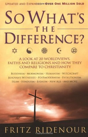 So What's the Difference? by Fritz Ridenour
