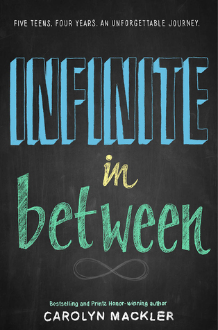 Infinite in Between, Review by Carly Roberts Book Cover