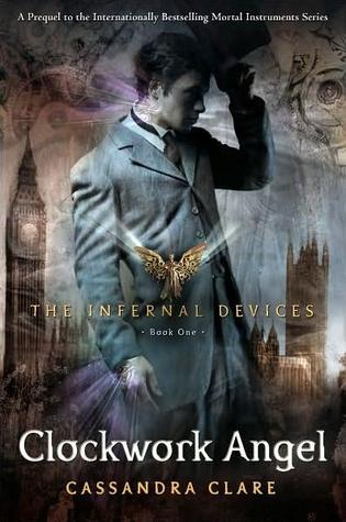 Clockwork Angel by Cassandra Clare (book cover)