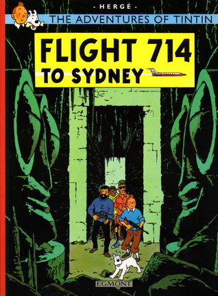 Flight 714 to Sydney  (Tintin, #22)