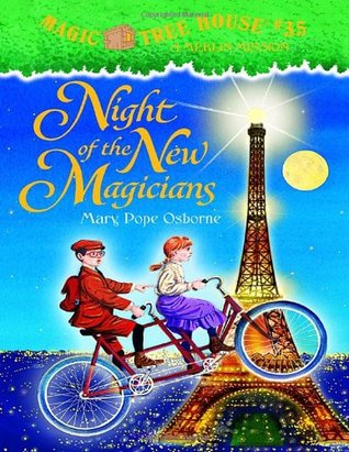 Night Of The New Magicians Magic Tree House 35 By Mary