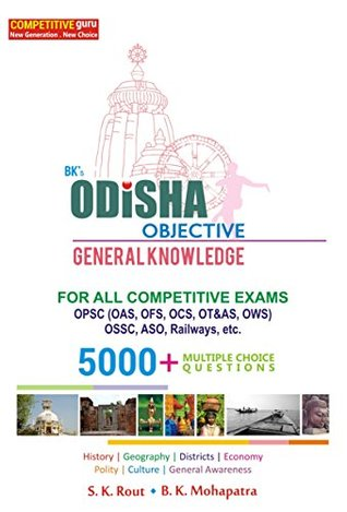 BKs Odisha Objective General Knowledge Sangram Keshari Rout