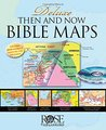 Deluxe Then And Now Bible Map Book With Cd-Rom (Spiral-Bound)