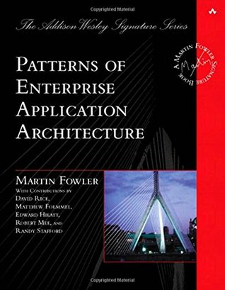 Patterns of Enterprise Application Architecture (Hardcover) by Martin Fowler