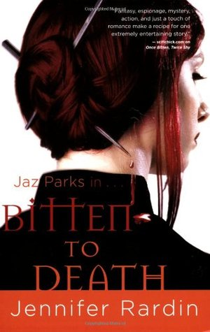 Bitten to Death by Jennifer Rardin