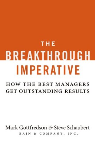 The Breakthrough Imperative by Mark Gottfredson