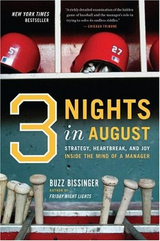 Three Nights in August by H.G. Bissinger