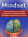 Mindset: 25 Positive Thinking Tricks You Wish You Knew Before. Change Your Mindset, Feel Happier and Become More Successful (mindset, millionaire mindset, positive mindset)