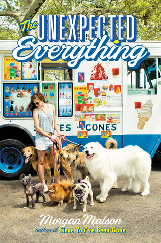 The Unexpected Everything by Morgan Matson book cover // Review by Mara @ Mara Was Here