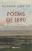Poems of 1890 by Herman Gorter