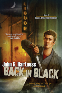 Back In Black by John G. Hartness