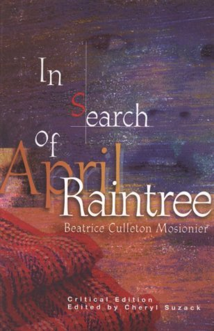In Search of April Raintree by Beatrice Culleton