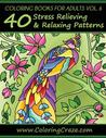 Coloring Books for Adults Volume 6 by Adult Coloring Books Illust...