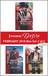 Harlequin Desire February 2016 - Box Set 2 of 2: The Doctor's Baby Dare\How to Sleep with the Boss\Tempted by the Texan