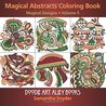 Magical Abstracts Coloring Book by Samantha Snyder