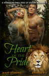 Large Print Heart of the Pride by Aden  Lewis