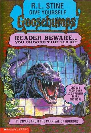 Escape from the Carnival of Horrors by R.L. Stine