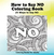 How to Say NO Coloring Book