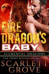 Fire Dragon's Baby (Dragon Shifter Scifi Alien Romance)