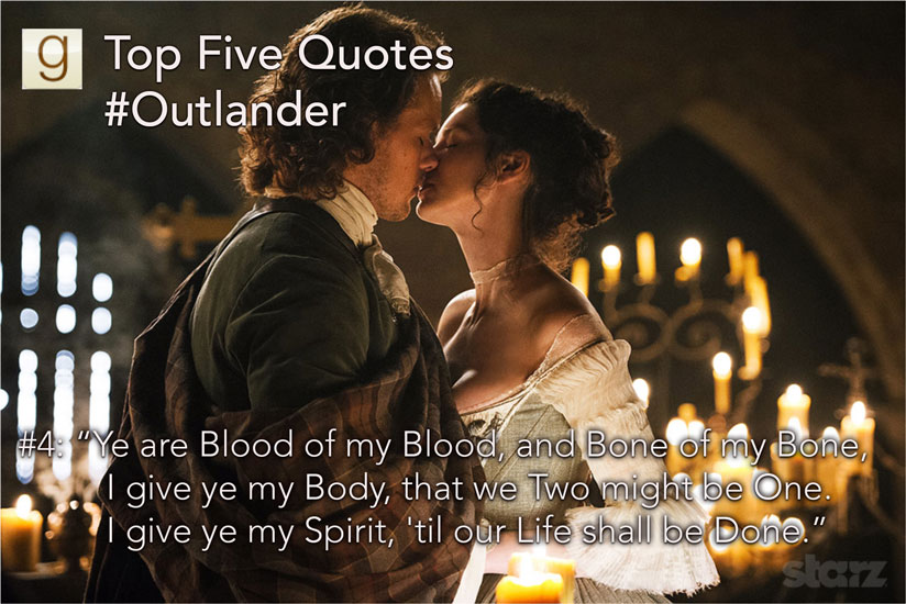 Goodreads Quotes Inspiration Goodreads Blog Post Top Five Outlander Quotes On Goodreads