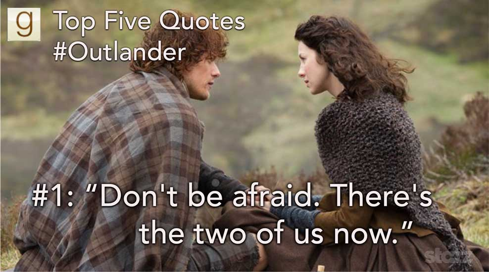 Top Five Outlander Quotes On Goodreads
