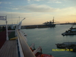 This is a picture of Freeport. They load cargo onto ships going all over the world. We saw them loading a ship going to China.