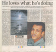 Times Of India Eastside Puls -Mohit.K.Misra Ponder Awhile