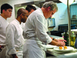 A glance inside the kitchen of Ripert's legendary restaurant Le Bernardin.