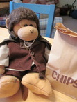 Frodo Timmy is having Chipotle second lunch to celebrate the beginning of GGBC!