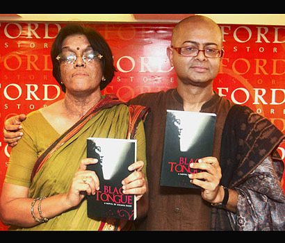 Me at Oxford with Rituparno Ghosh, director friend, who launched the book