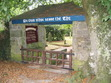 This is the lych gate at St Mawnan Parish church, where Jefferson Tayte meets Reverend Jolliffe.