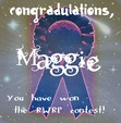 Congradulations, Maggie! You have won the <i>Random Word, Random Poem</i> contest. On behalf of the voters and group, we congradulate you on your poem Enchanted.