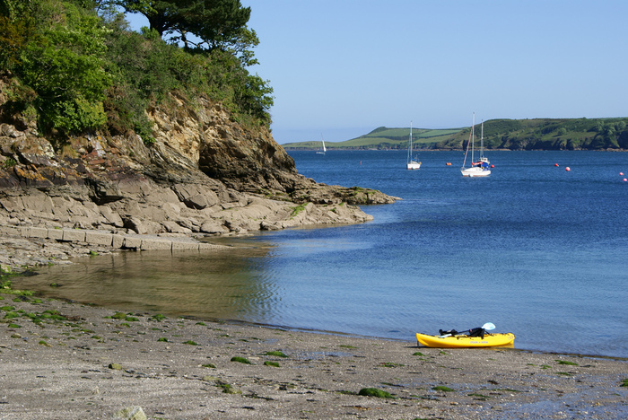 """To celebrate Steve's recent achievements with """"In the Blood"""", here is a photo of the beautiful Helford Passage, where it's set."""