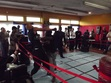 an underground kung fu tournament in Queens, NY