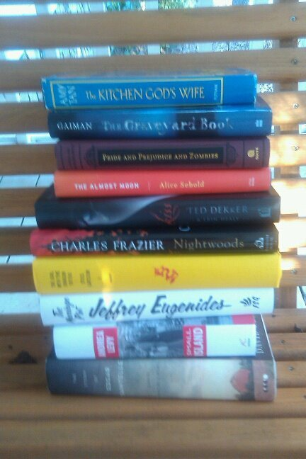 A few of the books that I've been meaning to get to, and meaning to get to, and meaning to....