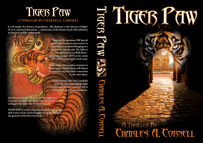 Book Covers Front And Back : Photos of tiger paw full book cover front back