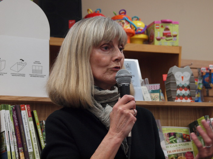 On tour for her novel, <i>Elegy For Eddie</i>, at Anderson's Bookshop - Naperville.