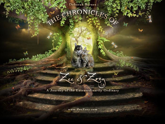 This delightful and whimsical homepage for the book, The Chronicles of Zee & Zoey, is the epitome of the premise of the book - that all ordinary moments should be celebrated as extraordinary.