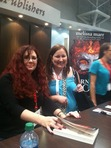 Here is Melissa Marr with Jody at her in-booth signing.