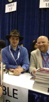 Dan Wells and Robison Wells signing at the BEA 2012.