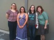 A little blurry, but weren't we all by that time anyway? Austin Vaginal Fantasy meetup August 12, 2012 at Apothecary Cafe and Wine Bar! Fangirlx, Jackie, Emily, Misstessamelissa