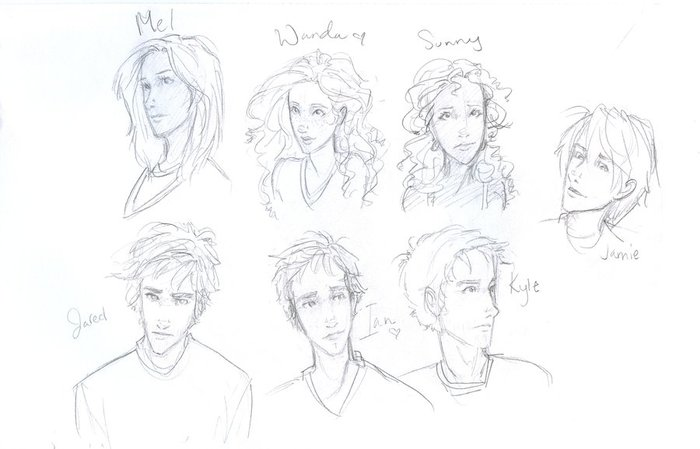 Main Characters from the book <3