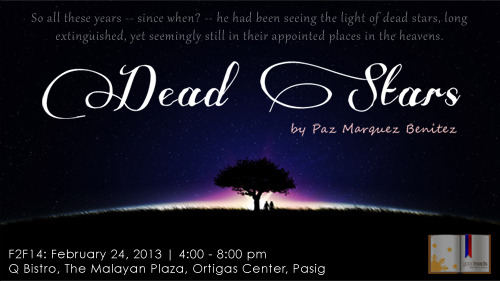 summary of dead stars by paz marquez benitez Anton juan's directorial take on dead stars  proudly presents a stellar twin-bill offering: an adaptation of paz marquez benitez's  dead stars and sepang.