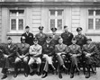 <b>Senior American commanders of World War II.</b>