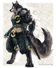 DW the great wolf warrior