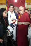 His Holiness Dalai Lama Blessed Great Missionary Sandeep Marwah
