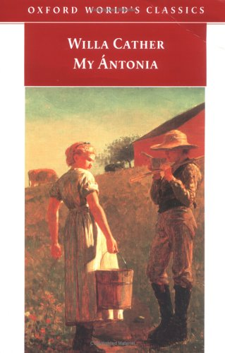 an analysis of jims reflection in my antonia a novel by willa cather My antonia passage analysis this passage takes place in the beginning of chapter 6 in book i of willa cather's my antonia while jim and antonia attend.