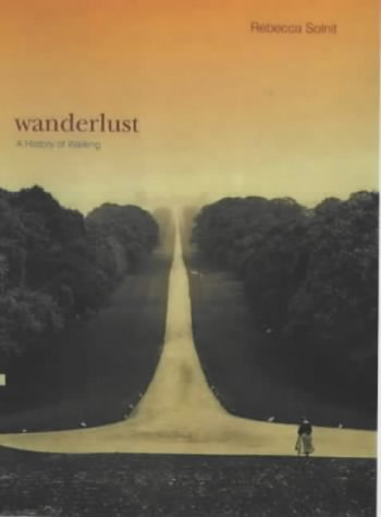 Wanderlust by Rebecca Solnit (cover art)