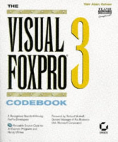 The Visual FoxPro 3 Codebook Yair Alan Griver